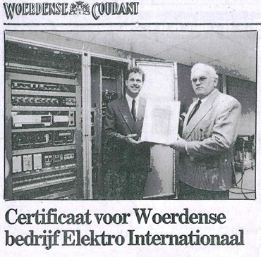 Woerdense Courant ISO EI 1992